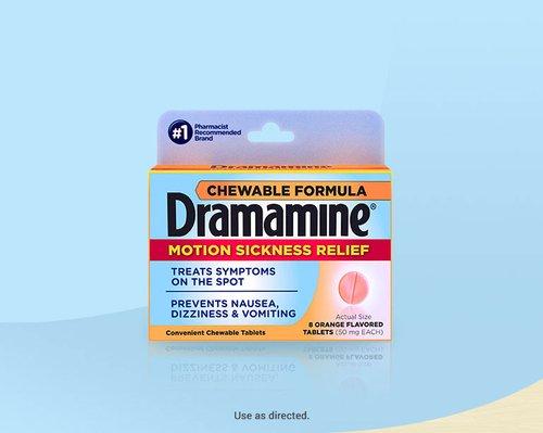 Dramamine® Chewables Motion Sickness Medicine
