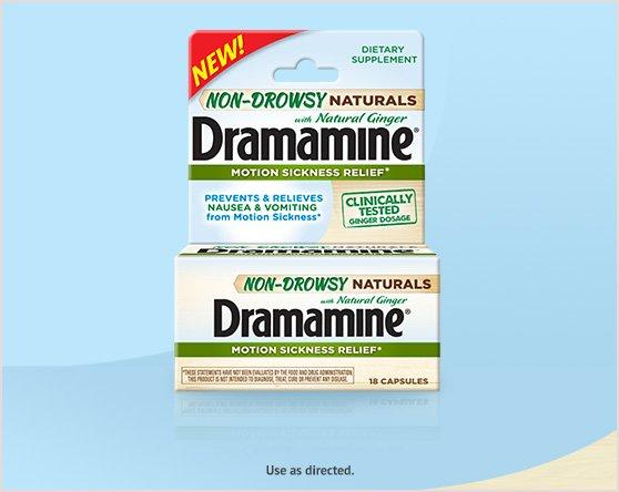Dramamine® Non Drowsy Naturals