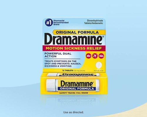 Dramamine® Original Formula Motion Sickness Medicine